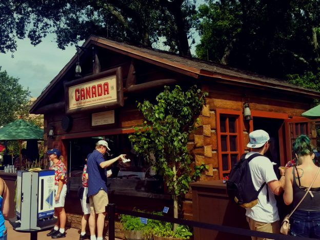 2017 Epcot Food and Wine Festival Canada Marketplace