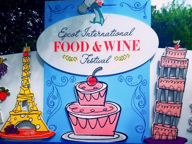 2017 Epcot Food and Wine Festival Sign