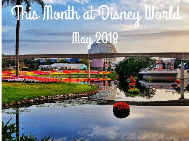 This Month at Disney World May 2018