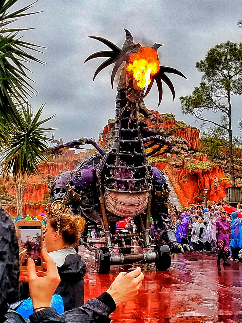 Firebreathing Maleficent R.I.P.