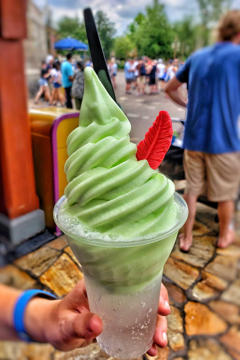 Peter Pan Key Lime Float