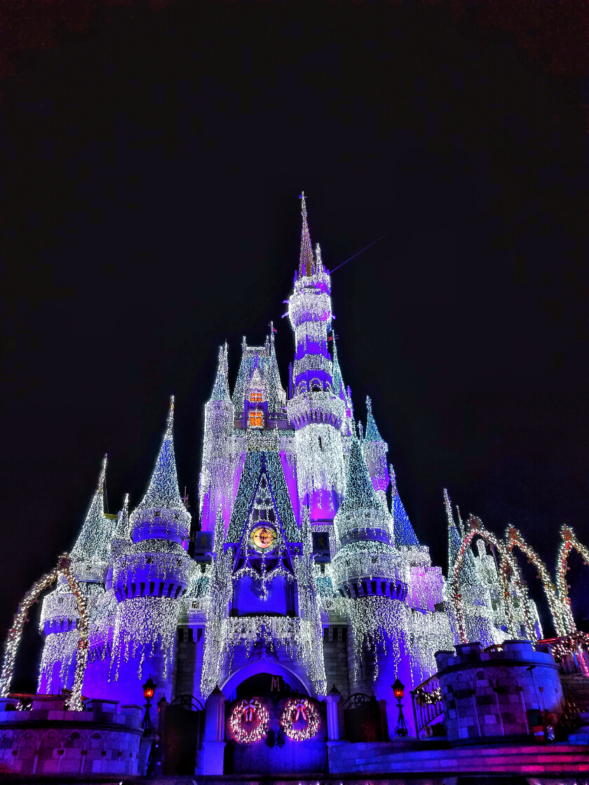 Cinderella's Castle Lights
