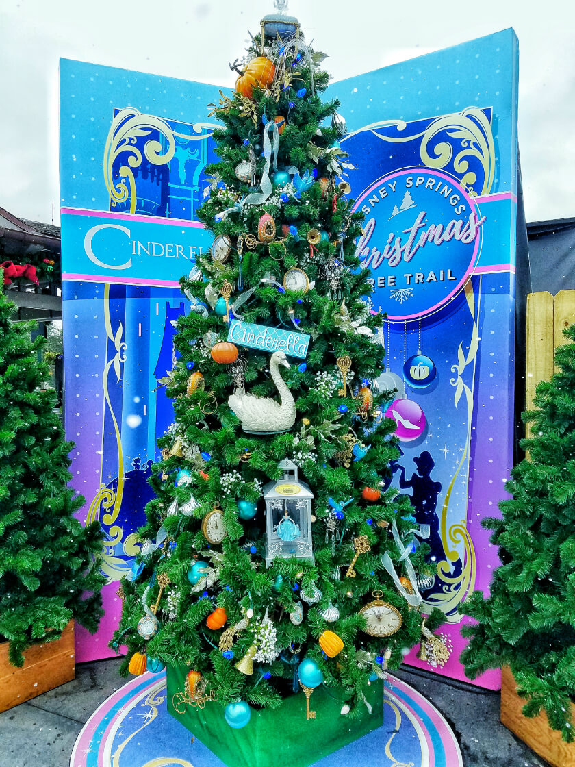 Cinderella's Christmas Tree