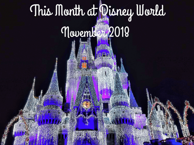 This Month at Disney World – November 2018